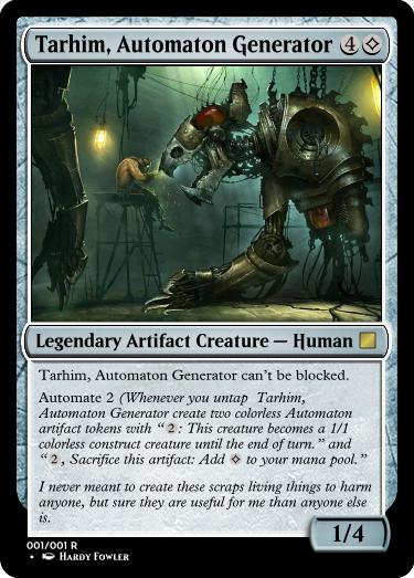 Tarhim, Automaton Generator