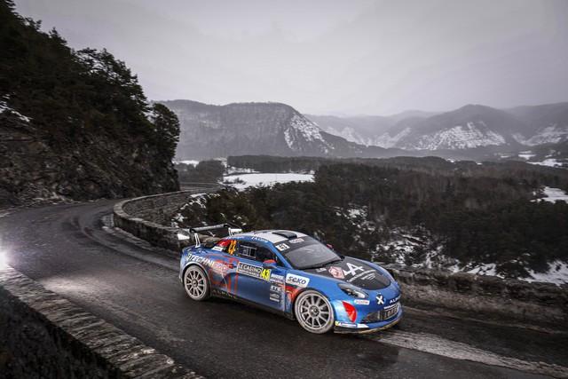 Alpine réussit son retour au Monte-Carlo 2021-Rallye-de-Monte-Carlo-4