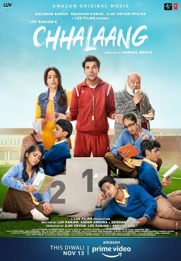 Chhalaang 2020 Hindi 1080p HDRip ESubs 2.7GB | 400MB Download
