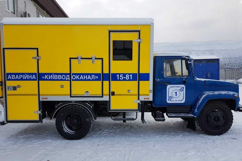 аварийно спасательная машина