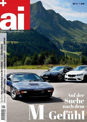 Cover: Auto Illustrierte Magazin No 09 September 2021