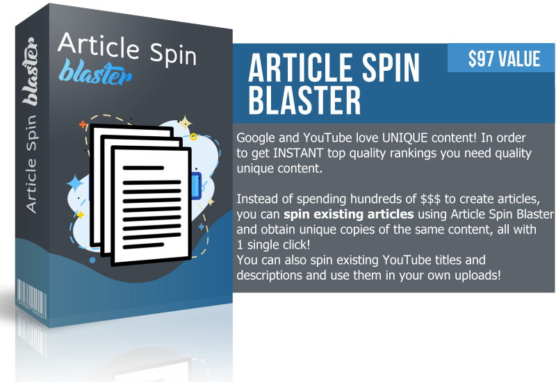 Article Spin Blaster