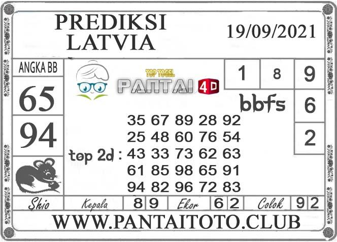 PREDIKSI TOGEL LATVIA PANTAI4D 19 SEPTEMBER 2021