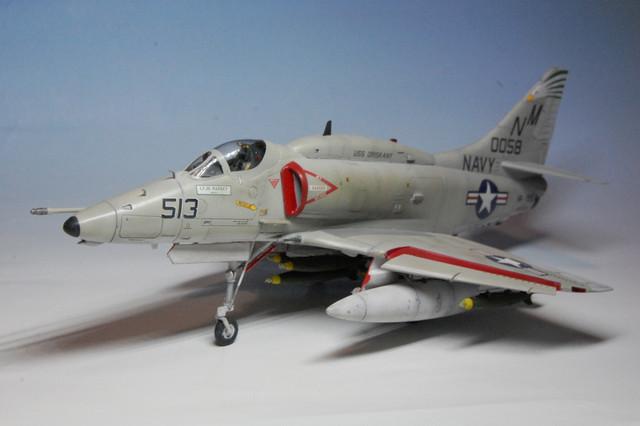 "A-4E VA-195 ""The Dambusters"", USS Oriskany, 1969 Esci 1/48"