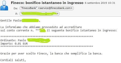 Bunq! 3 Bellissime carte +Bonifici Istantanei e 25 IBAN usa e getta INCLUSI + PROMO 10,00 € DI APERTURA 2019-Set06-bonificoistantaneor