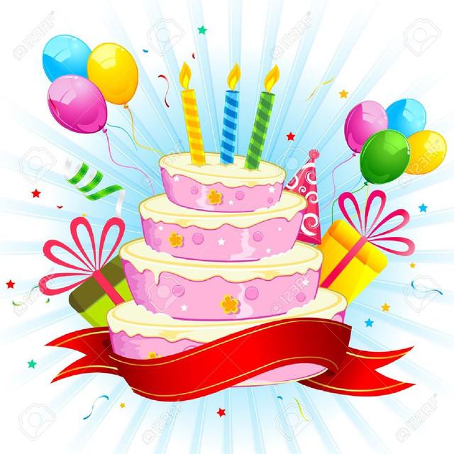 Feliz Cumpleaños, Pepelu 17441425-ilustraci-n-de-la-torta-de-cumplea-os-con-un-racimo-de-globos-de-colores-y-caja-de-regalo
