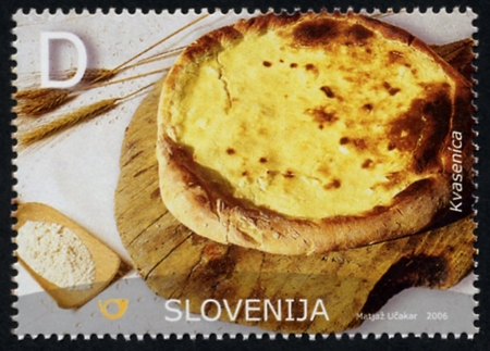 Slovenia stamps NATIONAL-DISH-2006-2
