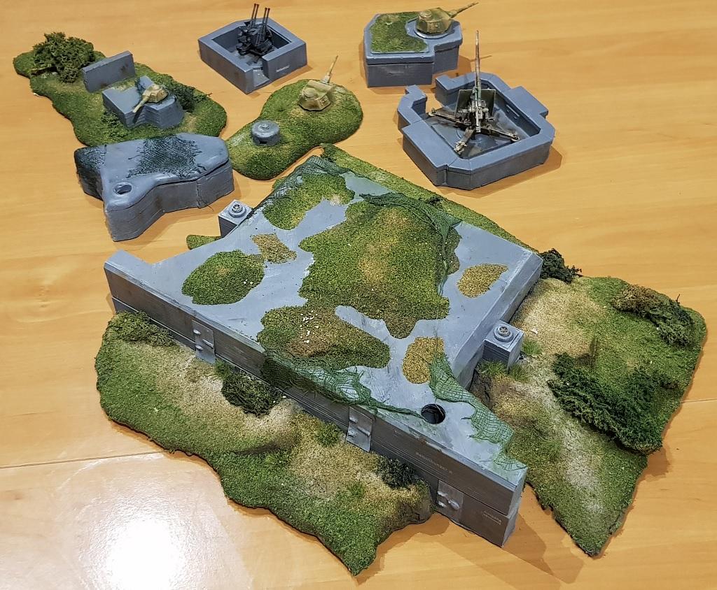 Bunker und Stellungen Bunker-2