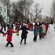 13 февраля 2021 года на приходе храма Донской иконы Божией Матери в Перловке состоялись праздничные гуляния для детей и взрослых «Широкая Масленица»