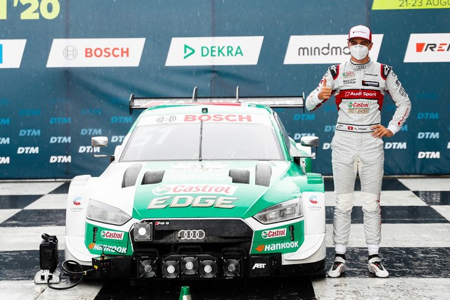 DTM – René Rast remporte le podium Audi au Lausitzring A204798-medium