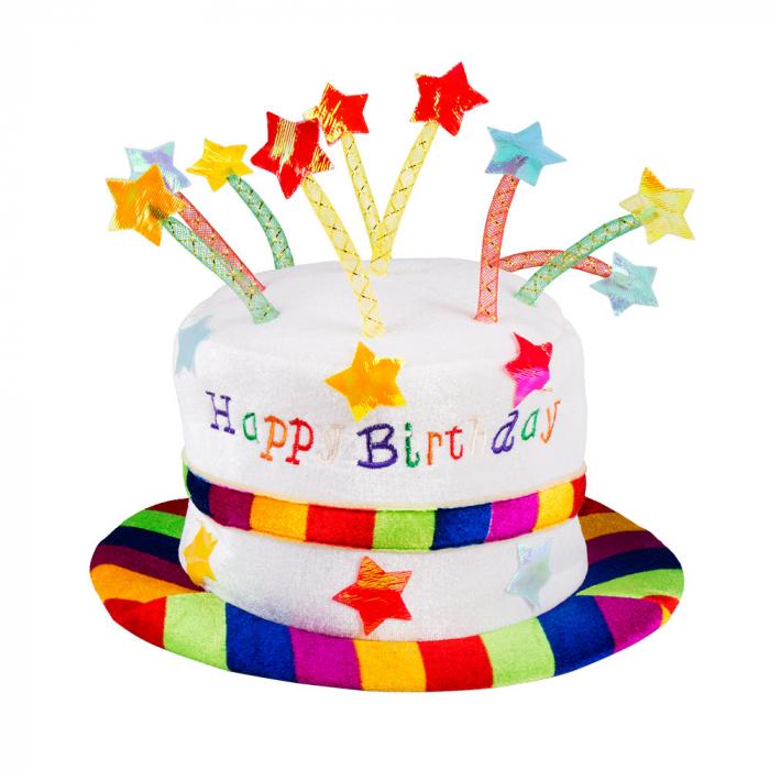 ტორტი ქუდი Happy Birthday