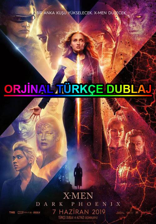 X-Men: Dark Phoenix | 2019 | BDRip | XviD | Türkçe Dublaj | m720p - m1080p | BluRay | Dual | TR-EN | Tek Link