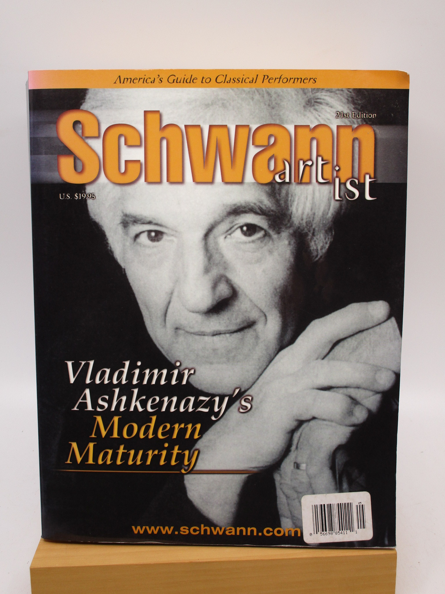 Image for Schwann Artist: America's Guide to Classical Performers, 21st Edition