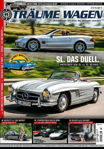 Cover: Träume Wagen Drivestyle Magazin No 07 2021