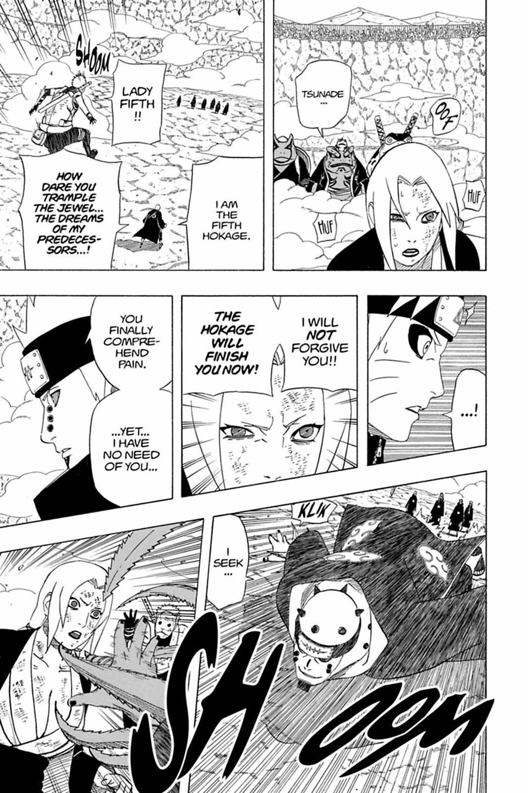 O péssimo desempenho de Pain contra Naruto 0430-016