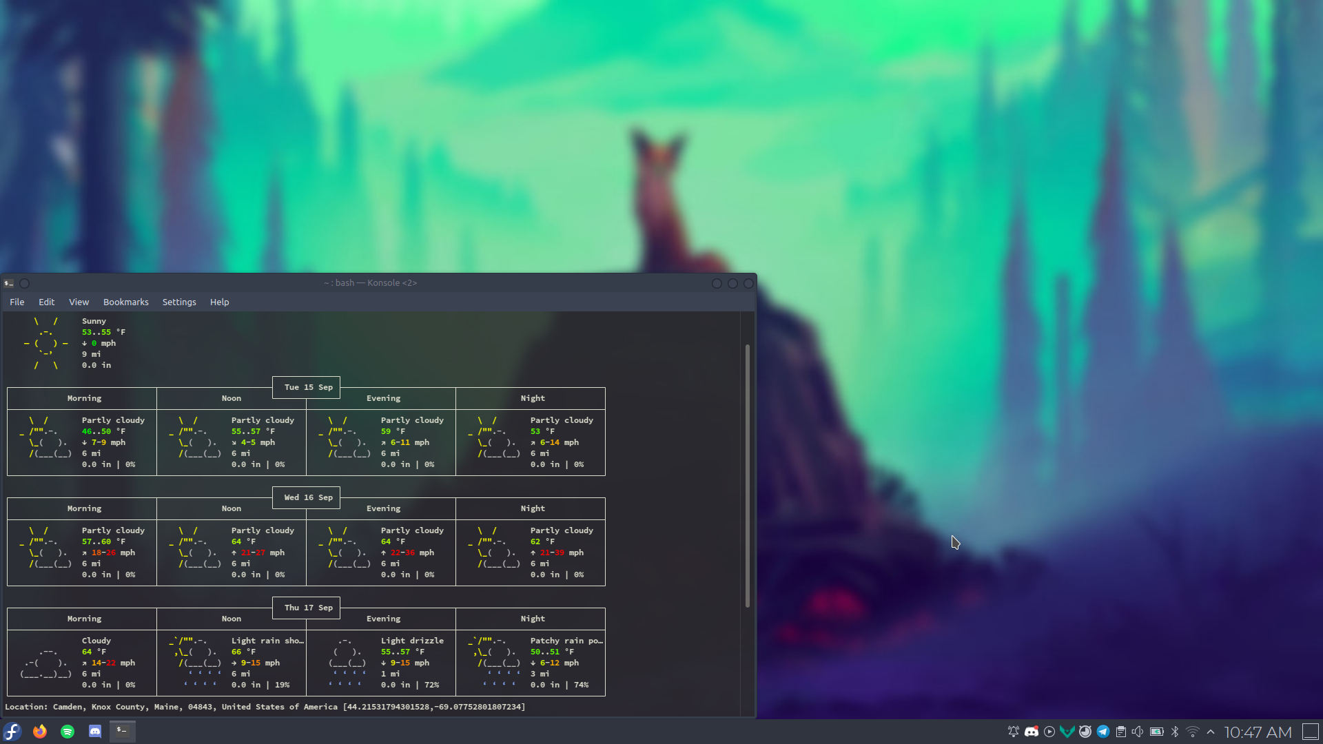 Screenshot of my KDE desktop. I use GNOME now though.