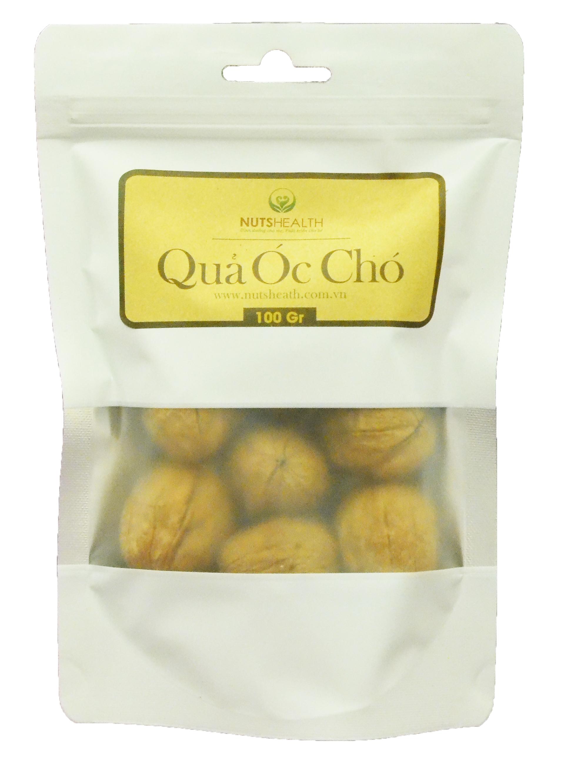 Quả Óc Chó còn vỏ ( Walnut ) -bịch- 100g – Nutshealth