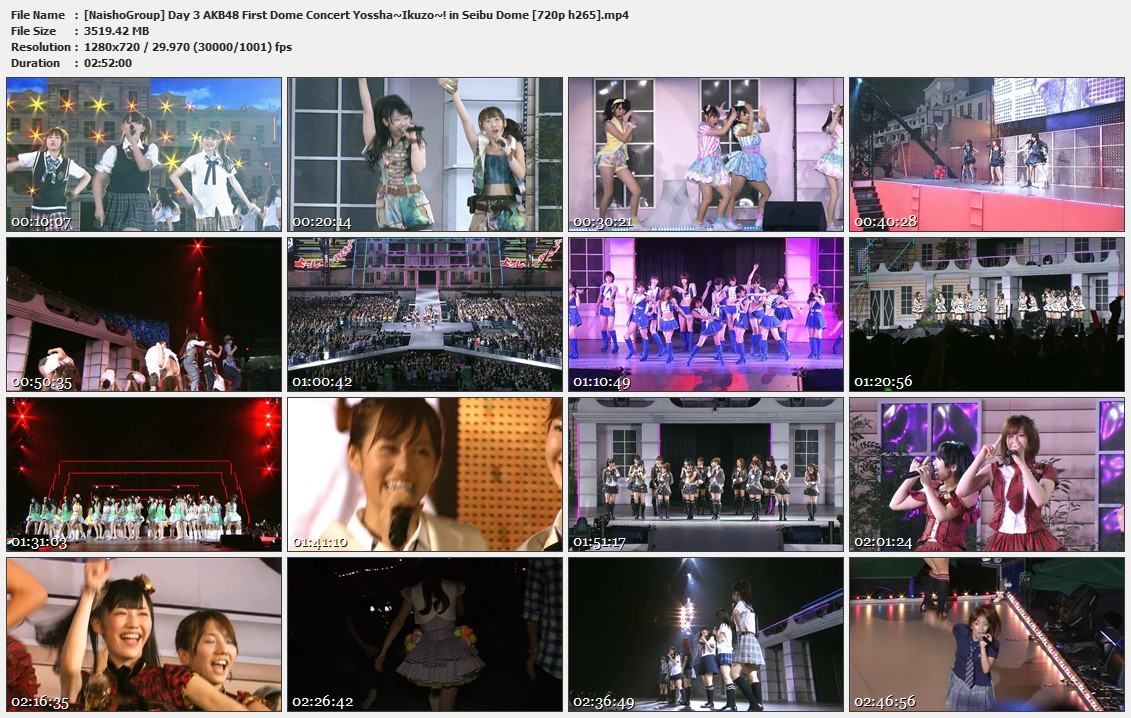 Naisho-Group-Day-3-AKB48-First-Dome-Concert-Yossha-Ikuzo-in-Seibu-Dome-720p-h265-mp4