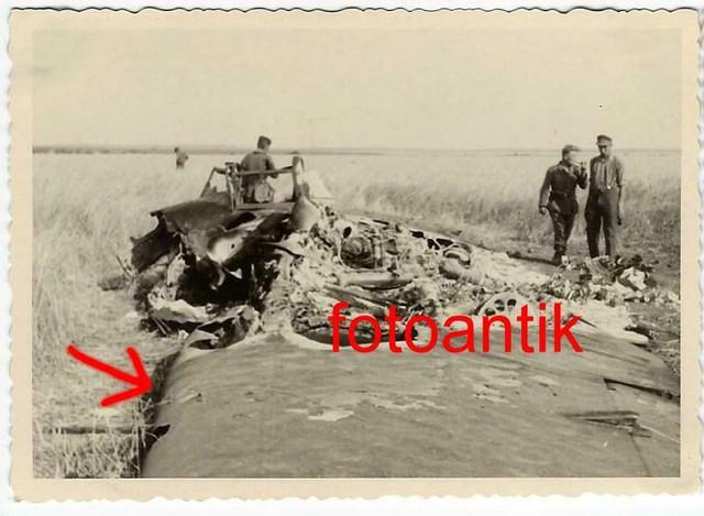 Foto-Gebirgsj-ger-Rgt-99-russisches-Flugzeug-abgeschossen-Soldaten