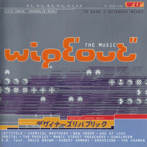 VA - Wipeout - The Music 1995