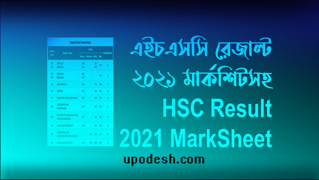 Upodesh-HSC-Rersult-2021