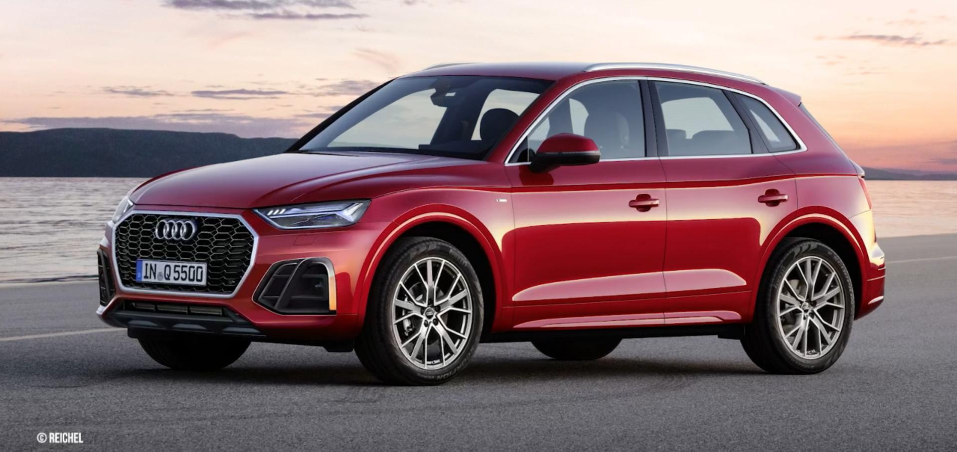 Audi Q5 II Restyling (2020) 5
