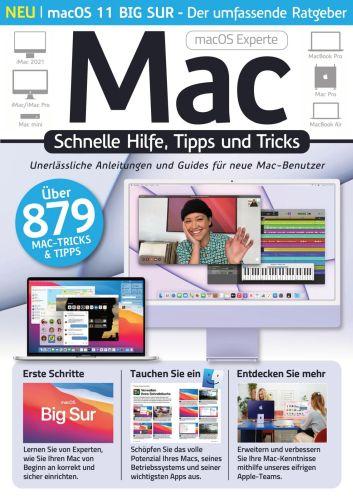 Cover: Mac Experte Magazin Schnelle Hilfe, Tipps und Tricks 2021