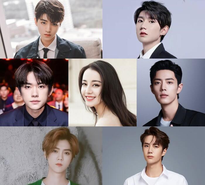 Top 7 sao ngôi sao Cbiz có 1 tỷ lượt tương tác trên weibo