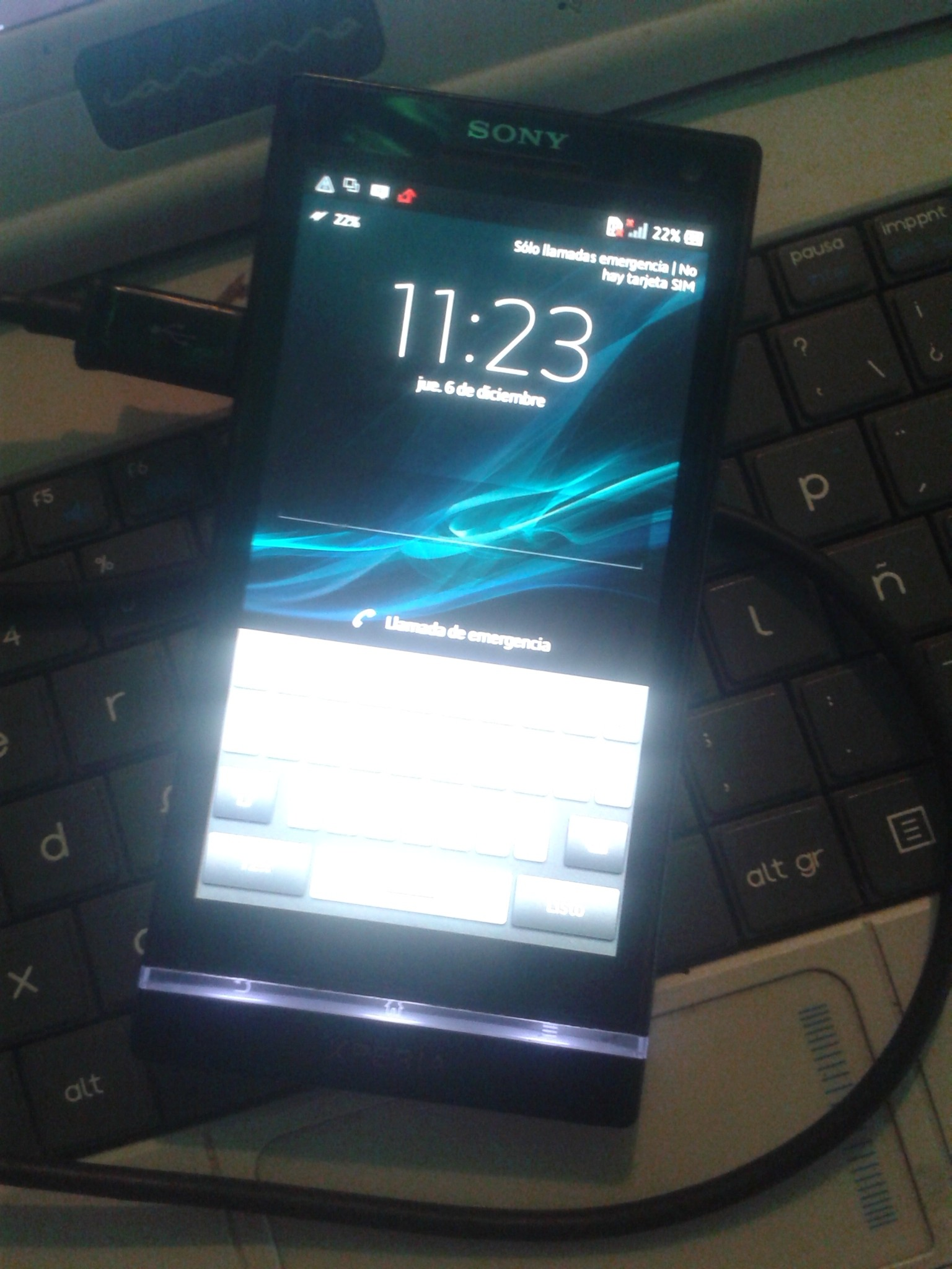 Problema con Sony Xperia S (LT26i) Carga y enciende, pero no lo reconoce la PC IMG-20190103-171612