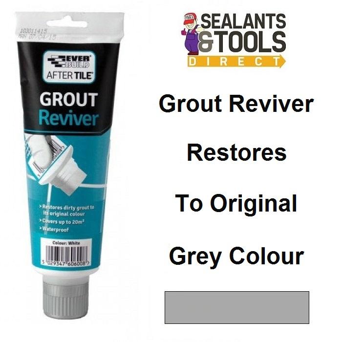 Everbuild After Tile Grout Reviver Grey ATREVIVEGY