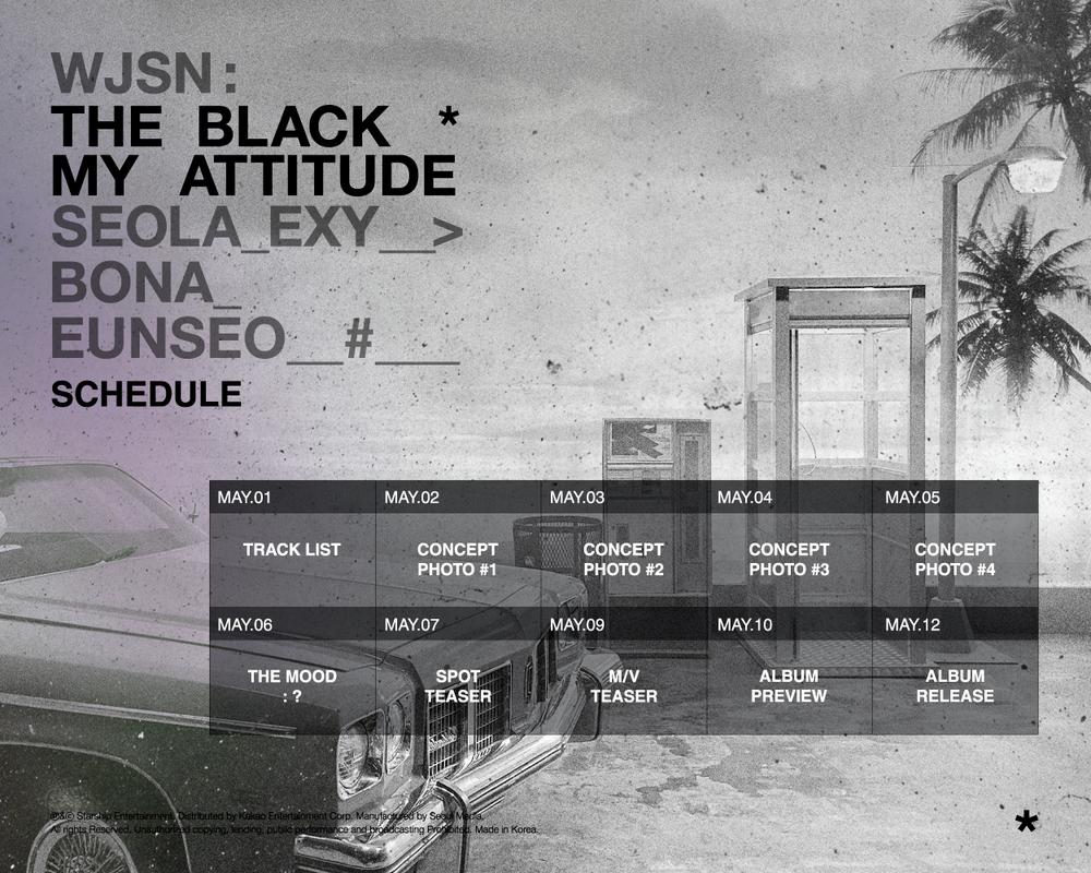WJSN-THE-BLACK-My-Attitude-schedule