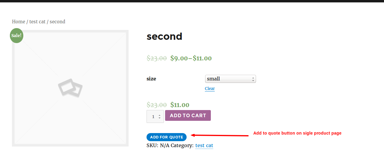 Easy WooCommerce Request a Quote - 2