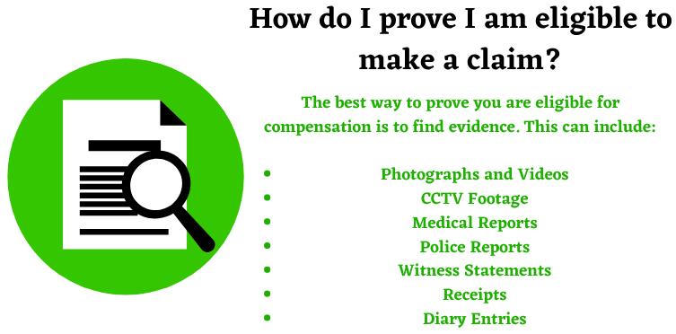 eligibility to make a claim image
