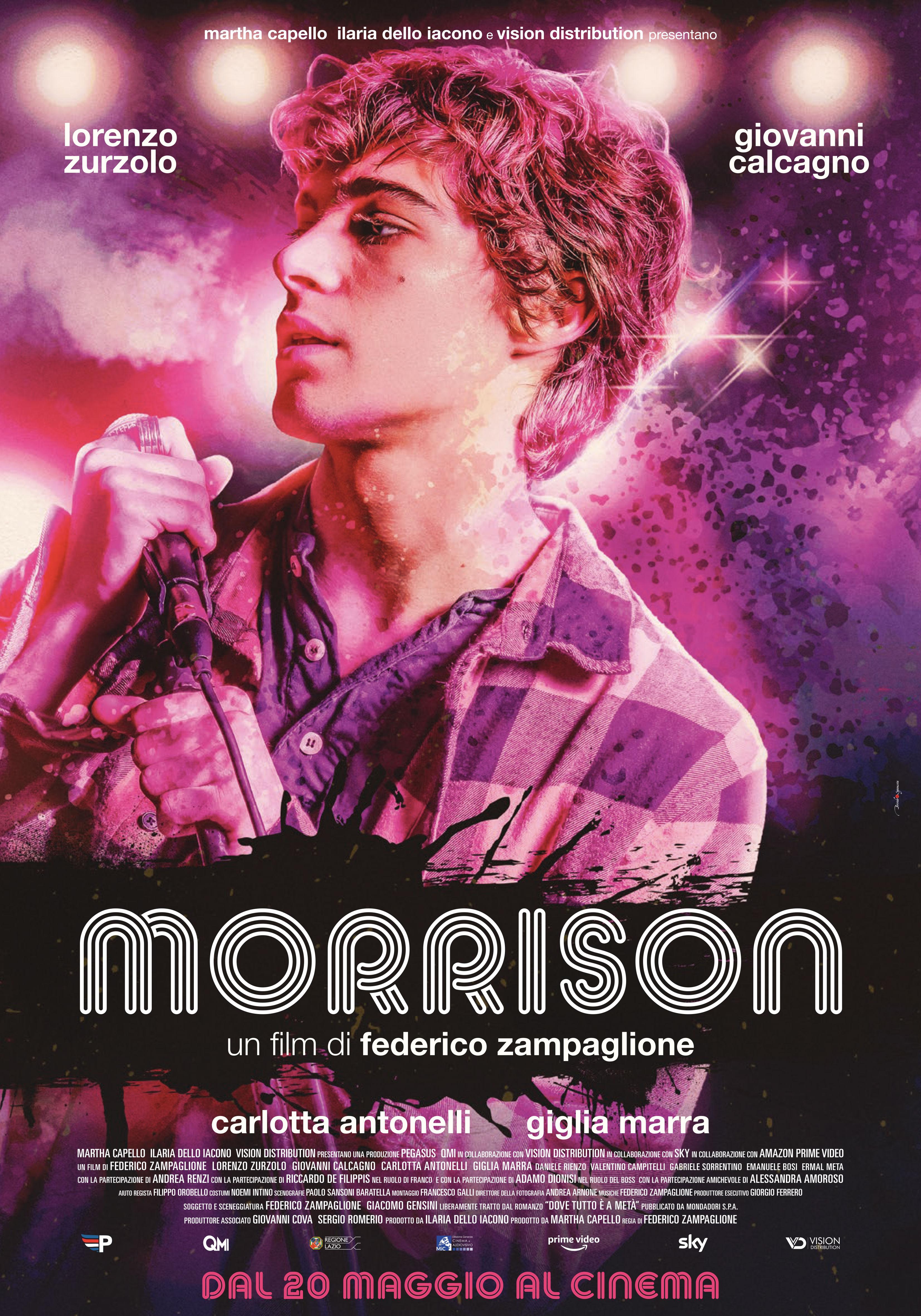 """""""Morrison"""", il nuovo film di Federico Zampaglione"""