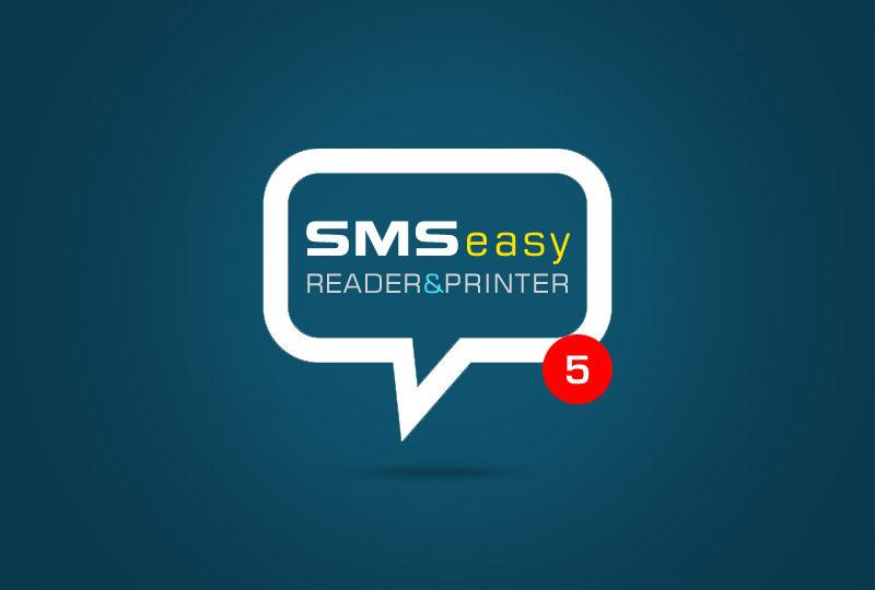Is It Easy To Print SMS Android with SMS EasyReader&Printer?