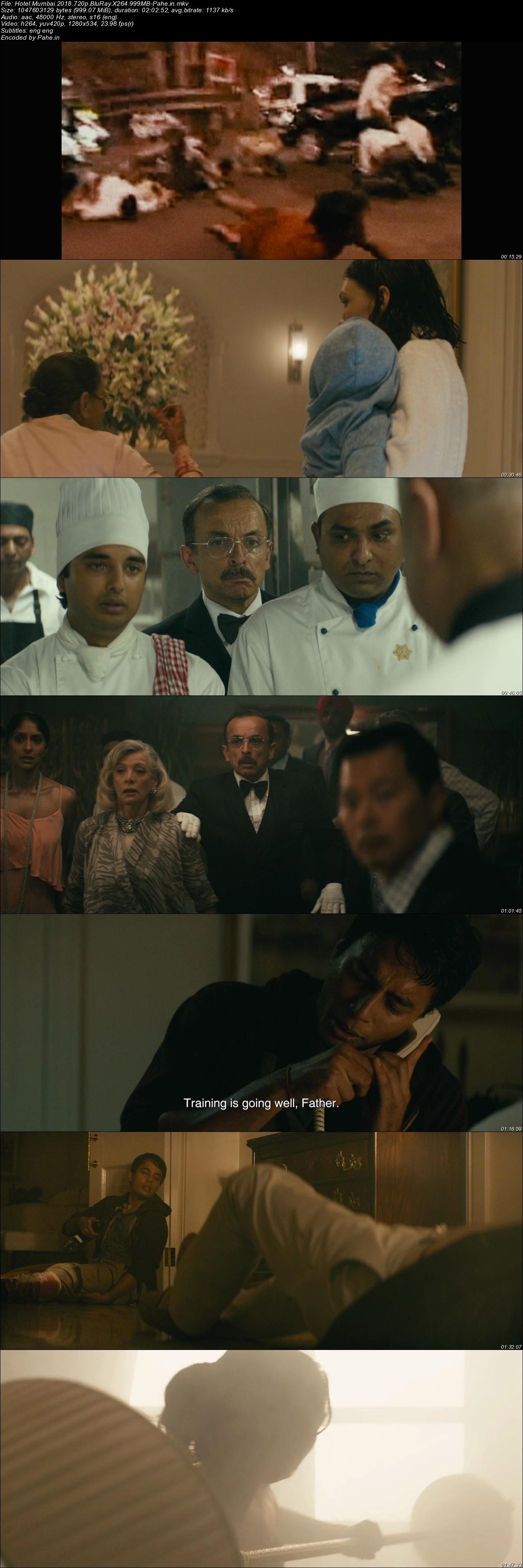 Hotel Mumbai (2019) BluRay 720p Subtitle Indonesia