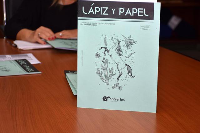 Provinciales: Cuadernillo recreativo para adultas y adultos mayores