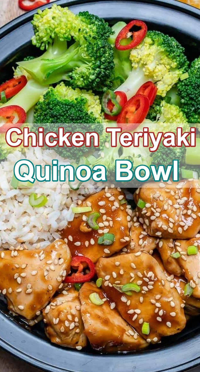 Chicken Teriyaki Quinoa Bowl