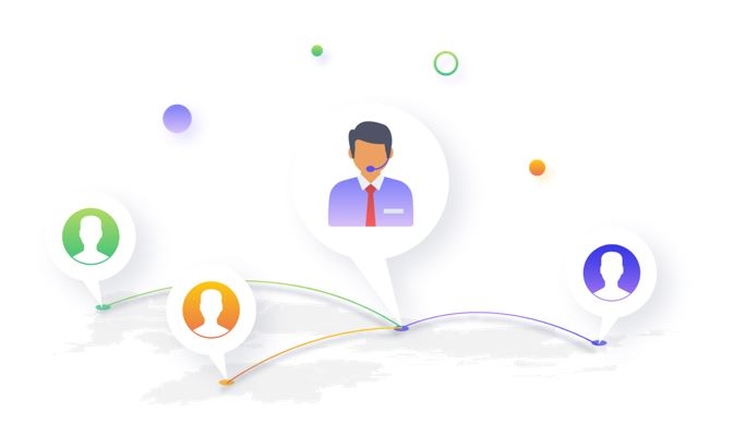 The-customer-service-team