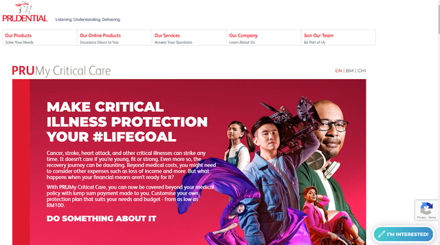Prudential Homepage - Hotcopy