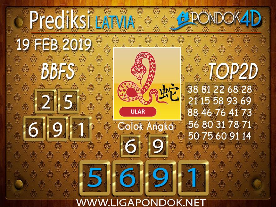 Prediksi Togel LATVIA PONDOK4D 19 FEBRUARI 2019