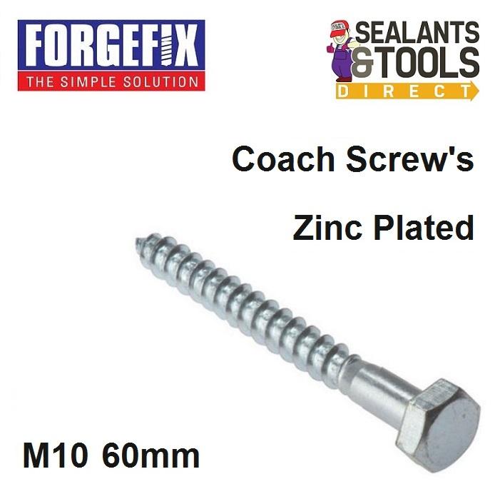 Forgefix-Coach-Screw-M10-60mm-10-CS1060