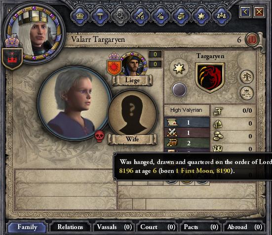 Valarr murdered.