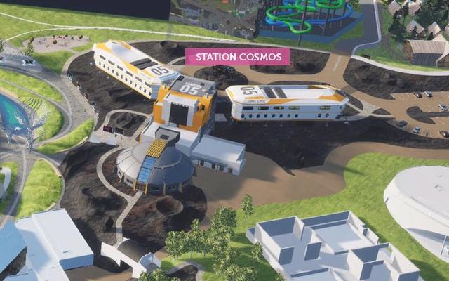 Hôtel Station Cosmos · 2022 F2025-Station-Cosmos