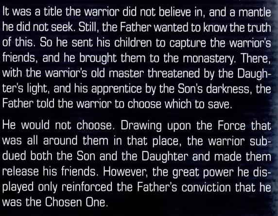 The Son versus Luke Skywalker and Darth Krayt The-Chosen-One