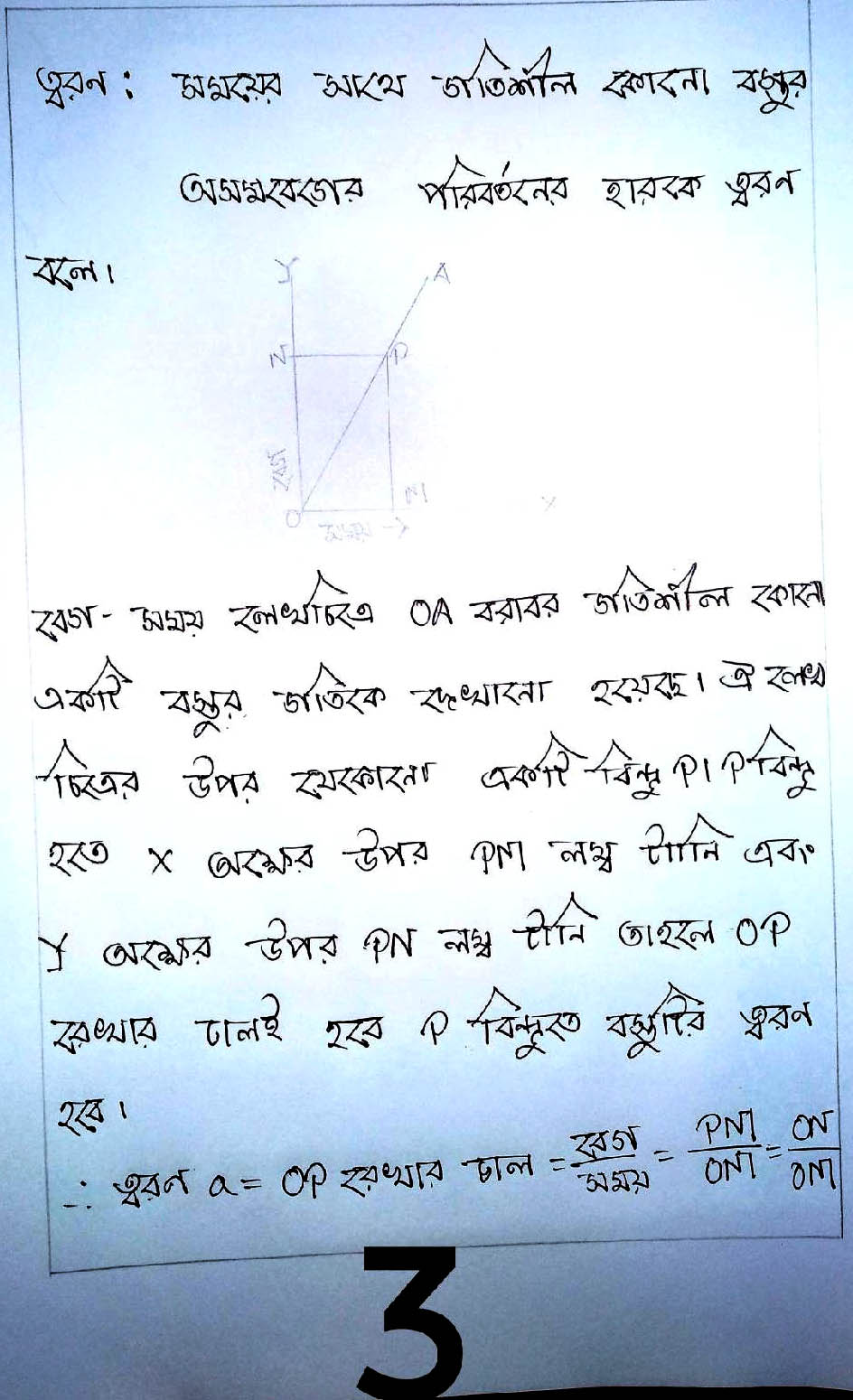 Class 9 Physics 13th Week Assignment 2021 Answer