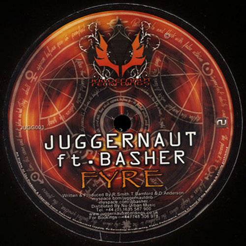Juggernaut - Fyre / The Portal (Basher Remixes) 2009