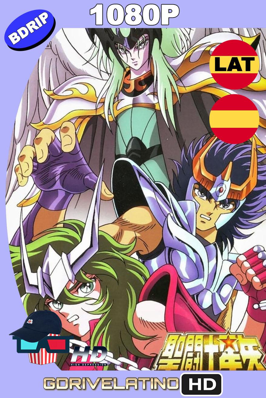 Saint Seiya: Los Caballeros del Zodiaco contra Lucifer (1989) BDRip 1080p Latino-Castellano-Japonés MKV
