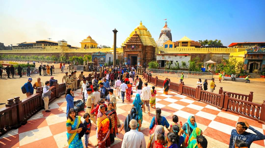 Odias at Srimandir