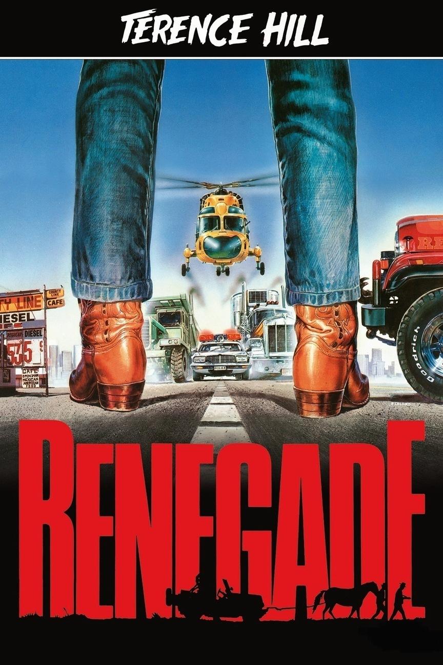 Asfalt Cowboy - Renegade (1987) 810p DUAL BluRay x264 DTS 5.1 [TR-EN] Türkçe Dublaj